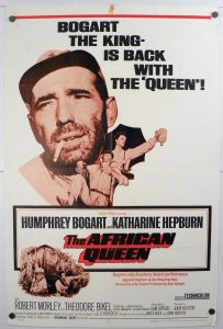"""(27"""" x 41"""")  Original U.S. One Sheet Movie Poster by The African Queen"""