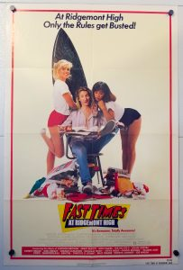 "(27"" x 41"")  Original U.S. One Sheet Movie Poster by Fast Times at Ridgemont High"