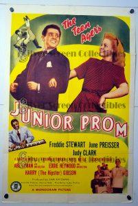 "(27"" x 41"")  Original U.S. One Sheet Movie Poster by Junior Prom"
