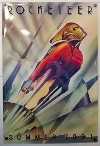 "(27"" x 40"")  Original U.S. One Sheet Movie Poster by Rocketeer"