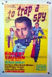 "(27"" x 41"")  Original U.S. One Sheet Movie Poster by To Trap a Spy"