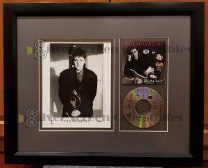 Paul McCartney Signed CD