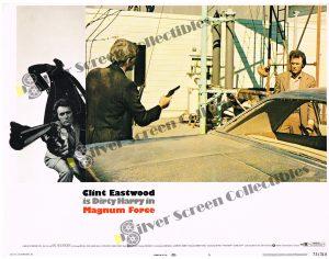 "(11"" x 14"")  Original U.S. Lobby Card from Magnum Force"