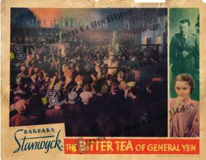 """(11"""" x 14"""")  Original U.S. Lobby Card from Bitter Tea of General Yen"""