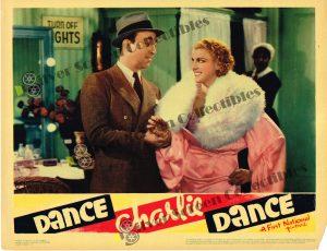 "(11"" x 14"")  Original U.S. Lobby Card from Dance Charlie Dance"