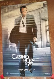 """(60"""" x 96"""")  Original U.S. Large Format Poster from Casino Royale"""