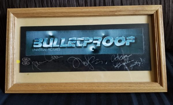 Bulletproof - Signed Trade Ad
